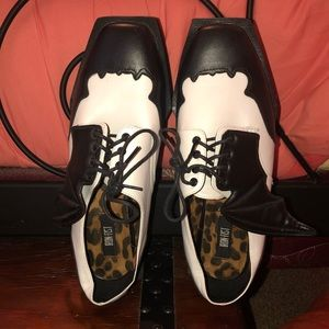 Iron Fist Creepers Coffin Bat Goth Shoes Platforms